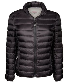 Women's - Clairmont Packable Travel Puffer Jacket L Tumi PAX Outerwear