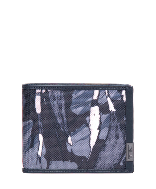 Alpha TUMI ID Lock™ Global Wallet with Coin Wallet