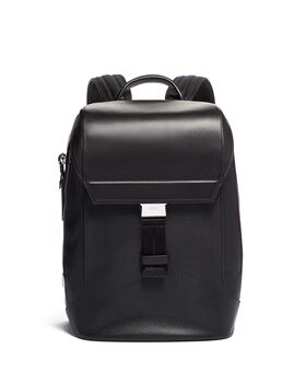 Dolton Flap Backpack Leather Ashton