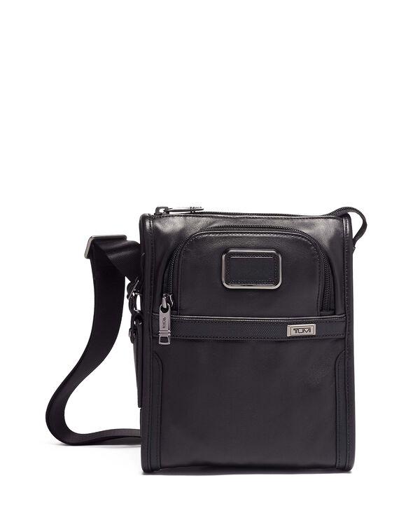 Alpha 3 Pocket Bag Small Leather