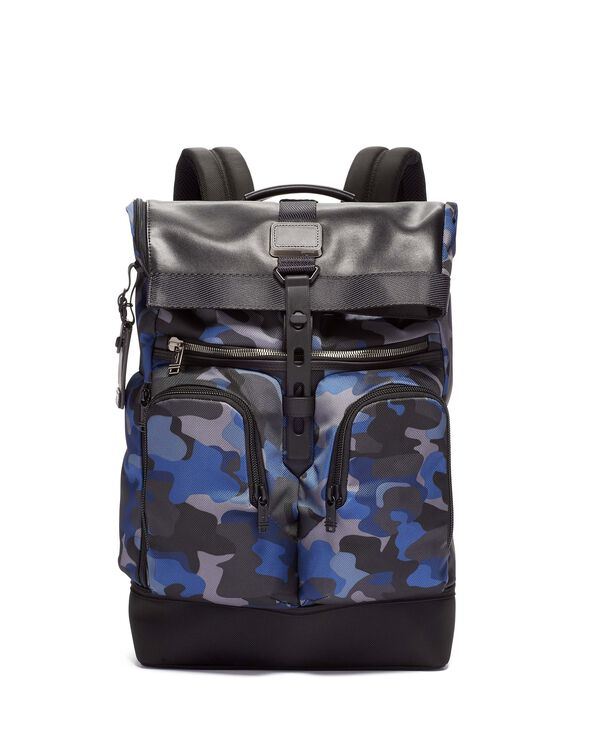 Alpha Bravo London Roll Top Backpack