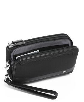 Triple Zip Clutch Alpha