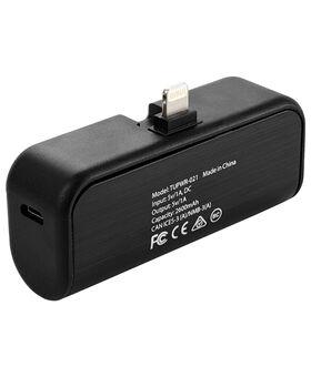 2,600 mAh Portable Battery Bank with LTG Swivel Electronics